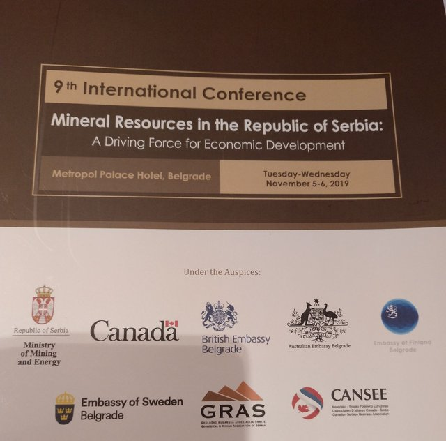 9th International Conference on Mineral Resources in Serbia