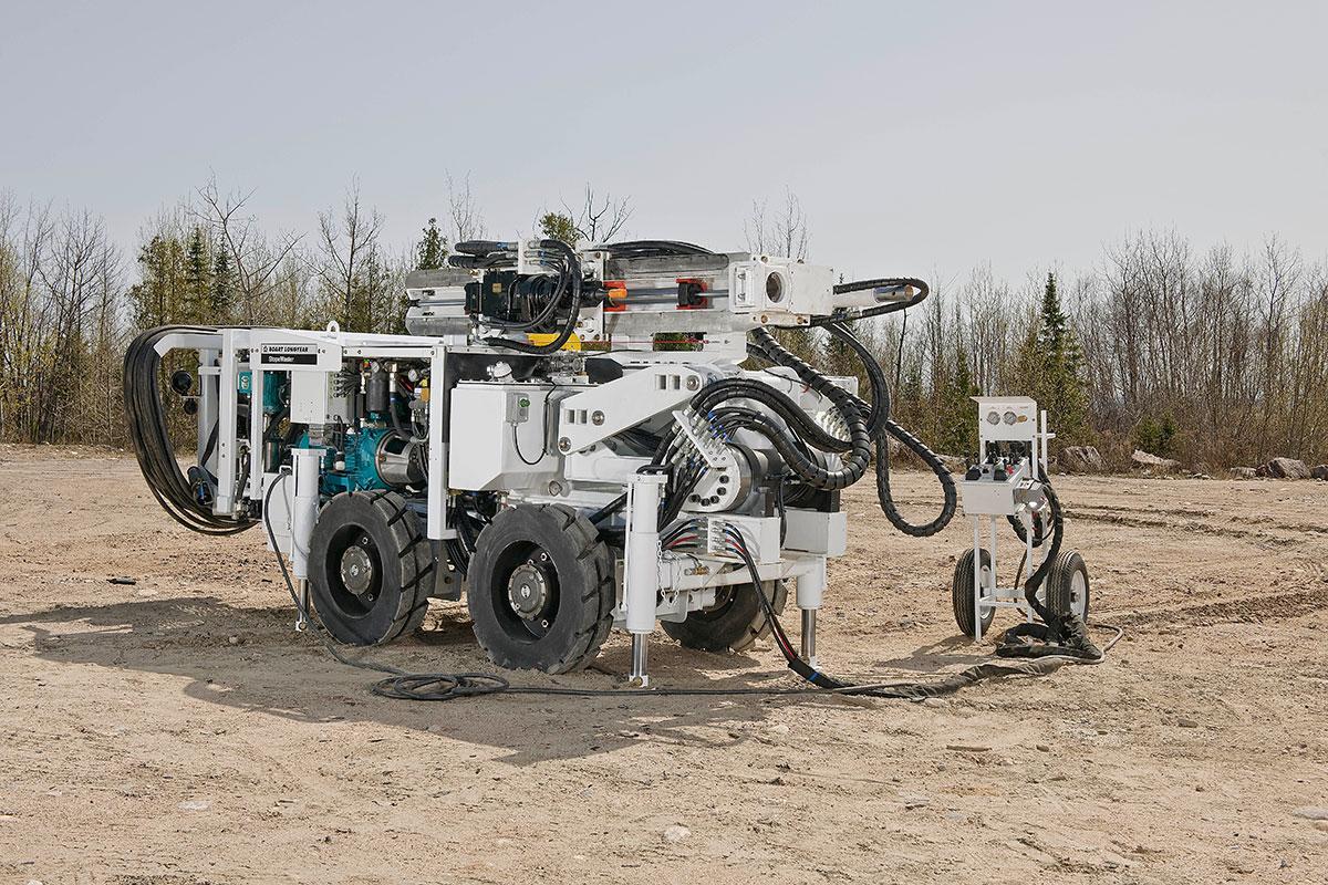 StopeMaster™ hidraulična proizvodna bušilica